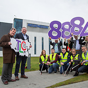 10.03.2017<br /> Representatives from biopharmaceutical company, Regeneron, were joined by TLC3 sponsor, JP McManus at a photocall to encourage other Limerick based companies to sign-up to the big clean-up which takes place on Good Friday, 14th April. Team Limerick Clean-up partners, Mr Binman, The Limerick Leader, Live 95FM, Limerick City &amp; County Council also attended.<br /> <br /> Pictured at the event were, JP McManus and Niall O&rsquo;Leary, VP &ndash; Site Head from Regeneron  with Eugene Phelan, Limerick Leader, Patricia Liddy, Limerick City and County Council, Joe Cleary, Mr. Binman and Geraldine O'Regan, Live95 FM and Regeneron staff, Pamela Kent, Jack Gallagher, Brendan Duggan, Sarah Collins and Ivor Downey. <br /> <br /> Over 8,000 volunteers have already registered to TLC3 and businesses from across Limerick are also being urged to get involved in the initiative. Picture: Alan Place