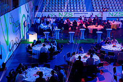 VIP hall prior to the football match between National teams of Slovenia and Switzerland at Round 2 of Euro 2016 Qualifications, on October 9, 2014 in Stadium Ljudski vrt, Maribor, Slovenia. Photo by Vid Ponikvar / Sportida.com