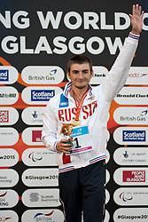 GLADKOV Andrei RUS at 2015 IPC Swimming World Championships -  Men's 400m Freestyle S7