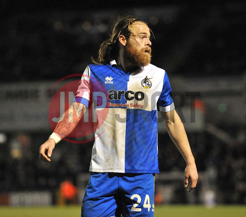Bristol Rovers' Stuart Sinclair - Photo mandatory by-line: Dougie Allward/JMP - Mobile: 07966 386802 - 19/12/2014 - SPORT - football - Bristol - Memorial Stadium - Bristol Rovers v Gateshead  - Vanarama Conference