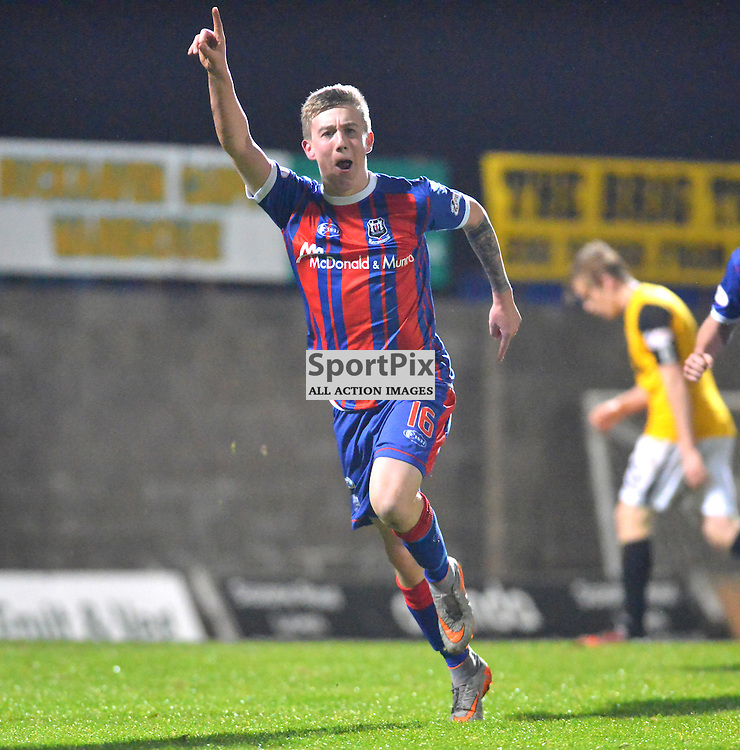 Delighted - Kyle MacLeod of Elgin can't hide that goal scoring feeling.....(c) BILLY WHITE | SportPix.org.uk