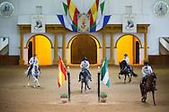 Real Escuela Andaluza del Arte Ecuestre - Jerez de la Frontera, Andalusia, Spain - 02 October 2013