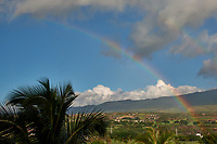 Rainbow over Maui. Image taken with a Nikon D3x camera and 45 mm f/2.8 PC-E lens (ISO 100, 45 mm, f/16, 1/40 sec).