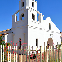 Old Adobe Mission in Scottsdale, Arizona<br /> During the early part of the 20th century, Mexicans fled tremulous times in their country and immigrated to Scottsdale to work in cotton fields and on ranches. Being devote Catholics, they wanted a church. So they banded together to create 14,000 adobe bricks in order to build the Our Lady of Perpetual Help. The first mass was in 1933. This humble, whitewashed church at the intersection of First Street and Brown Avenue was replaced by two subsequent building projects. Now, the Old Adobe Mission attracts tourists and wedding couples as a testament to a bygone era in Scottsdale&rsquo;s history.