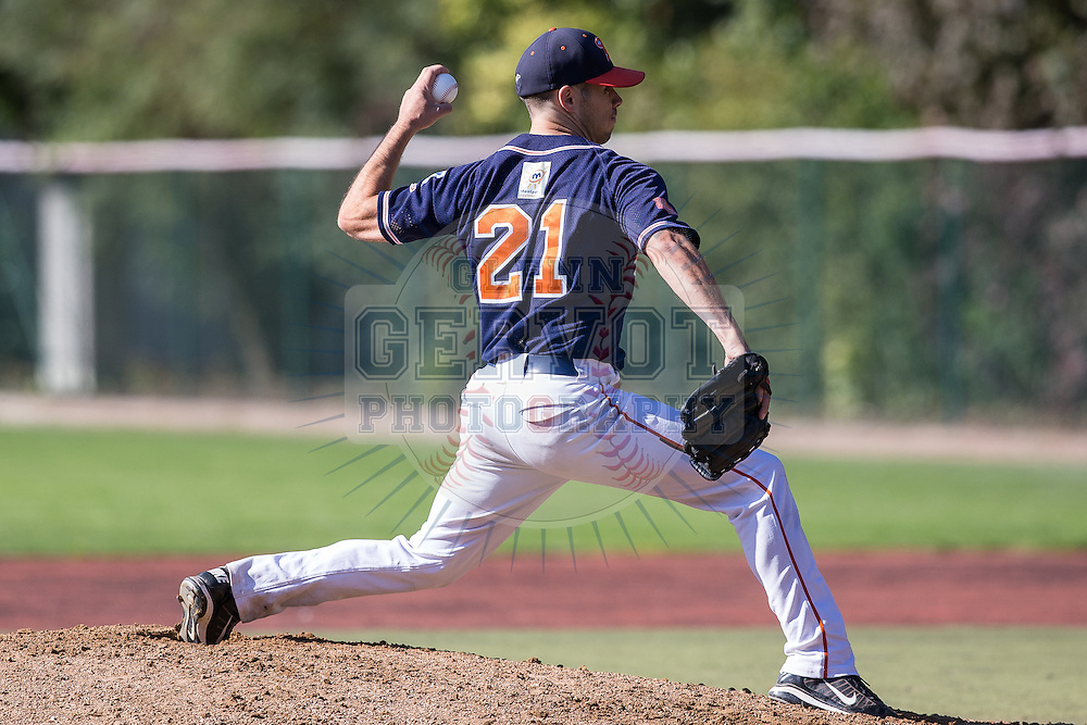 Shots taken during the fourth game of the French Series 2015, opposing The Huskies from Rouen and the Barracudas from Montpellier.<br /> Rouen won 6-4 in 9 innings.<br /> 26-09-2015   Credit : Glenn Gervot