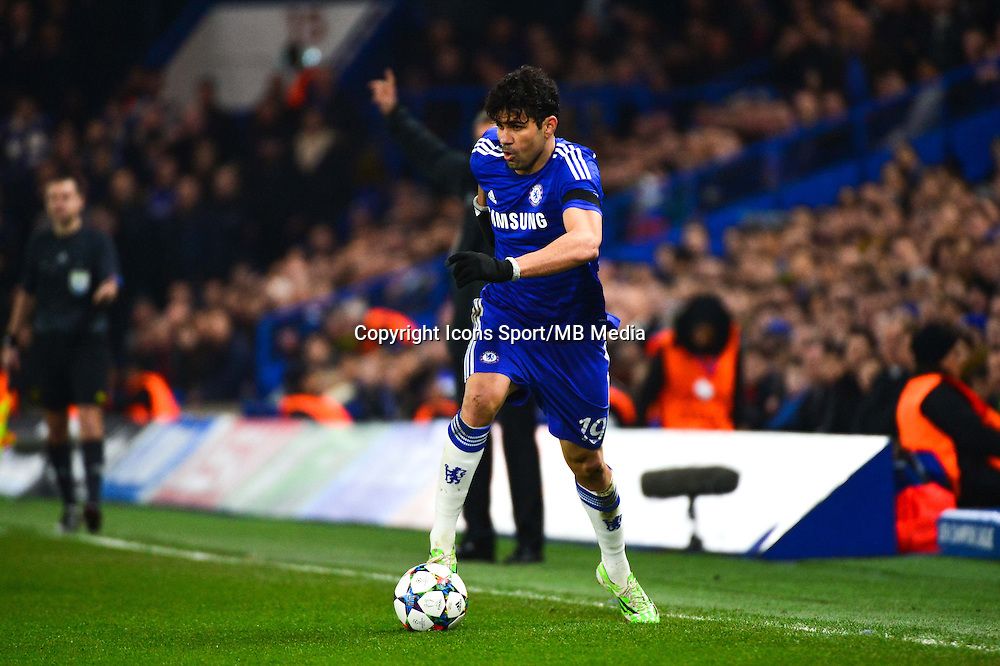 Diego COSTA - 11.03.2015 - Chelsea / Paris Saint Germain - 1/8Finale retour Champions League<br /> Photo : Dave Winter / Icon Sport
