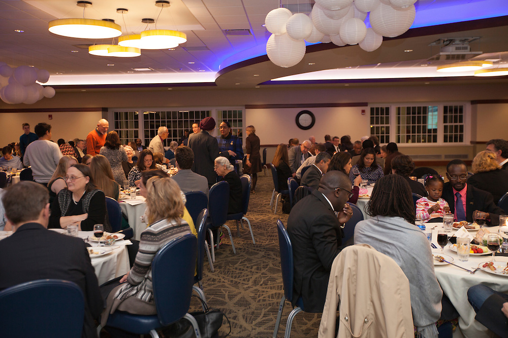 The Global Engagement Awards Gala in Nelson Commons, on Thursday, November 19, 2015. Photo by Kaitlin Owens