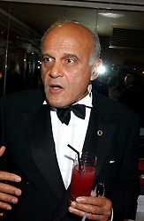 SIR MAGDI YACOUB at the Chain of Hope 10th Anniversary Ball held at The Dorchester, Park Lane, London on 1st November 2005.<br />