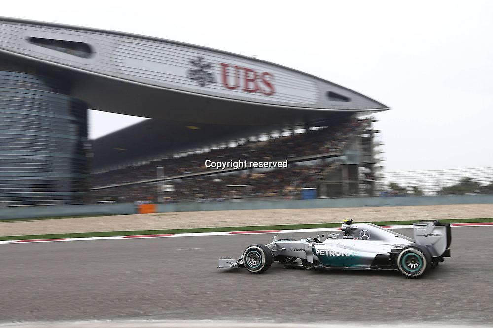 20.04.2014. SHanghai, China.  Motorsports: FIA Formula One World Championship 2014, Grand Prix of China, 6 Nico Rosberg (GER, Mercedes AMG Petronas F1 Team) on his way to a second place finish