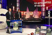 Panoramica studio TV3 Rai, Presentazione POSTEMOBILE Final Eight 2017 - Rimini 16-19 fabbraio 2017 - studi RAI, Milano 23 gennaio 2017