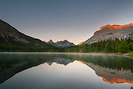 Sunrise, Wedge Pond, Kananaskis