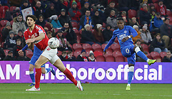 Siriki Dembele of Peterborough United shoots at goal against Middlesbrough - Mandatory by-line: Joe Dent/JMP - 05/01/2019 - FOOTBALL - Riverside Stadium - Middlesbrough, England - Middlesbrough v Peterborough United - Emirates FA Cup third round proper