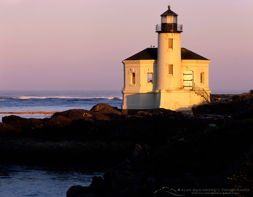 Coquille River Lighthouse Bandon Oregon USA