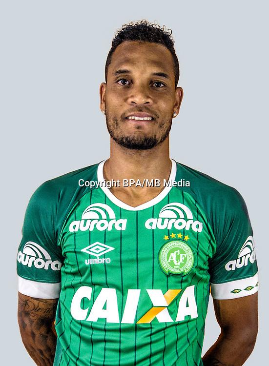 Brazilian Football League Serie A / <br /> ( Associacao Chapecoense de Futebol ) - <br /> Willian Thiego de Jesus &quot; Willian Thiego &quot;