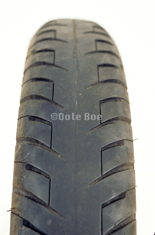 close up of motorcycle tire