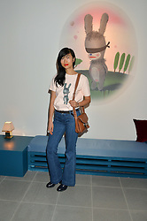 MIMI XU at the Future Contemporaries Party in association with Coach at The Serpentine Sackler Gallery, West Carriage Drive, Kensington Gardens, London on 21st February 2015.