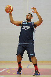 Jordan Ranklin of Bristol Flyers - Mandatory byline: Dougie Allward/JMP - 07966386802 - 01/09/2015 - BASKETBALL - SGS Wise Campus -Bristol,England - Bristol Flyers Pre-Season Training