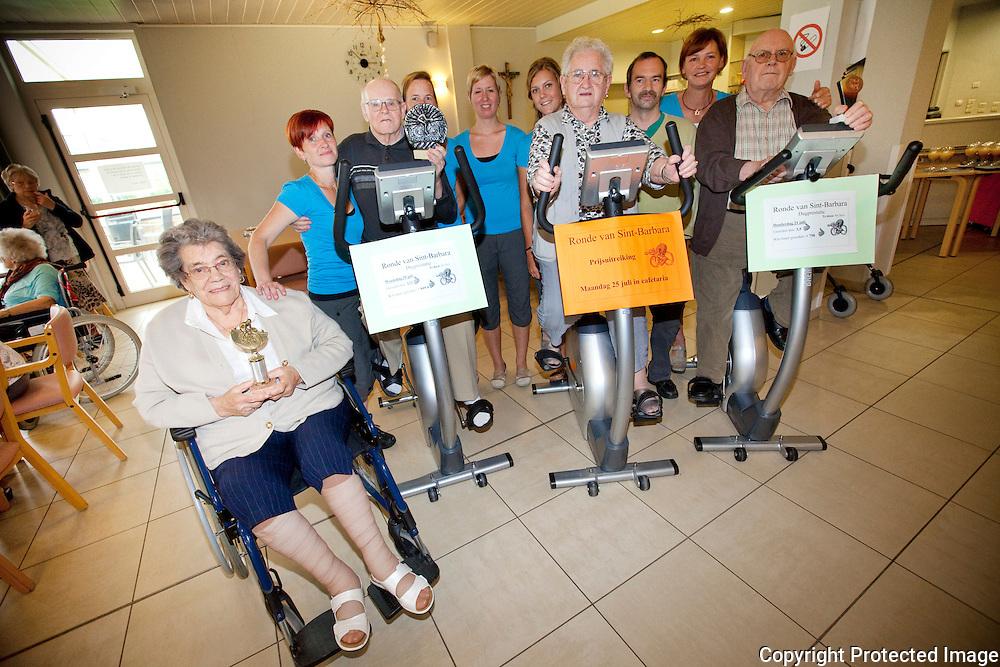 360223-Rusthuis Sint-Barbara organiseerde tijdens de Tour de France, de Ronde Van SintBarbara-Dieperstraat 17 Herselt