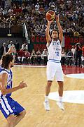 DESCRIZIONE : Roma Amichevole preparazione Eurobasket 2007 Italia Grecia <br /> GIOCATORE : Massimo Bulleri<br /> SQUADRA : Nazionale Italia Uomini <br /> EVENTO : Amichevole preparazione Eurobasket 2007 Italia Grecia <br /> GARA : Italia Grecia <br /> DATA : 30/08/2007 <br /> CATEGORIA : Tiro<br /> SPORT : Pallacanestro <br /> AUTORE : Agenzia Ciamillo-Castoria/G.Ciamillo