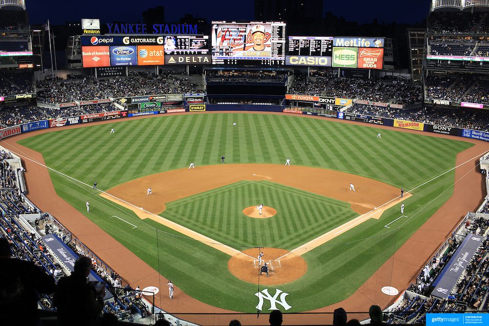 The New Yankee Stadium- Empty Seats - YouTube