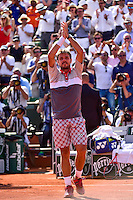 Joie Stanislas WAWRINKA - 05.06.2015 - Jour 13 - Roland Garros 2015<br />Photo : Dave Winter / Icon Sport