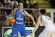 Taranto 05-06-2011<br /> Qualifying Tournament Eurobasket Women 2011<br /> Italia-Germania<br /> Nella foto Raffaella Masciadri<br /> Foto di Ciamillo-Castoria