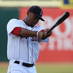 March 14, 2011; Fort Myers, FL, USA; Boston Red Sox left fielder Carl Crawford (13) before a spring training exhibition game New York Yankees at City of Palms Park.   Mandatory Credit: Derick E. Hingle