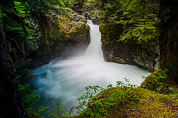 Stafford Falls, Mt. Rainier National Park, Washington, US