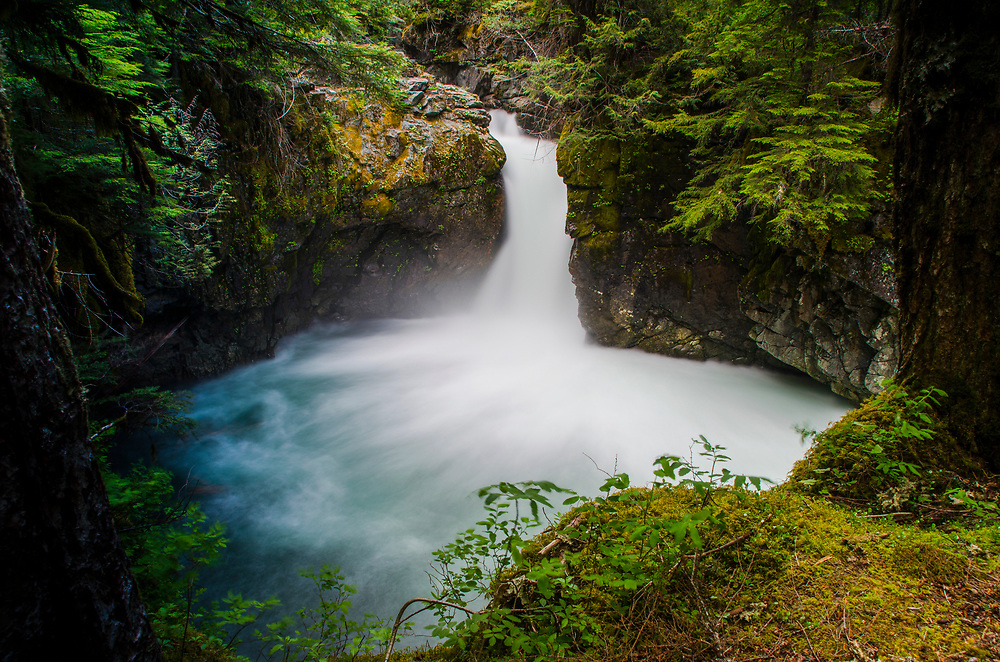 Stafford Falls, Mt. Rainier National Park, Washington, US