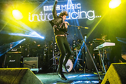 Dundee's The Mirror Trap play the BBC Introducing tent, with Gary 'The Panther' Moore on vocals. Saturday 9/6 at T in the Park 2016, Strathallan Castle, Perthshire.