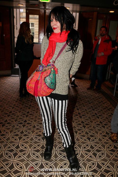 NLD/Amsterdam/20130404- Presentatie kledinglijn Rock & Roll Junkie van Lola Brood, Louise Schiffmacher - van Teylingen