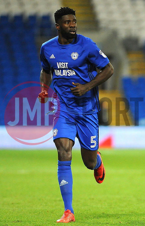 Bruno Ecuele Manga of Cardiff City -Mandatory by-line: Nizaam Jones/JMP - 01/12/2017 -  FOOTBALL - Cardiff City Stadium- Cardiff, Wales-  Cardiff City v Norwich City- Sky Bet Championship