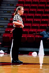 January 26, 2002:  Basketball referee Lea Morris...This image was scanned from a print.  Image quality may vary.  Dust and other unwanted artifacts may exist.