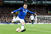 Everton striker Wayne Rooney (10) during the Europa League match between Everton and Apollon Limassol at Goodison Park, Liverpool, England on 28 September 2017. Photo by Craig Galloway.