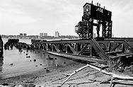 New York Central Railroad 69th St. Transfer Bridge, a historic monument.