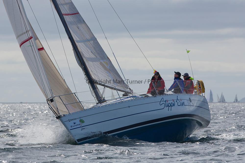 Silvers Marine Scottish Series 2017<br /> Tarbert Loch Fyne - Sailing Day 3<br /> <br /> GBR7892T, Slippi Jin, David &amp; Karen Parker, Dalgety Bay SC, First 35S5