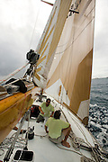 Van Ki Pass at the St. Maarten Classic Yacht Regatta