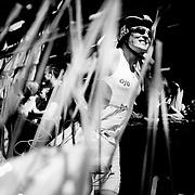 Changing zone<br /> <br /> <br /> <br /> I skiftezonerne skal deltagerne hurtigt finde deres taske med l&oslash;bet&oslash;j og skynde sig ud p&aring; n&aelig;ste etape af triathlonen.