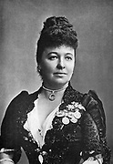 Dame Emma Albani (1852-1930) Canadian opera singer; successful in the leading cities of Europe and America. Born Marie Louise Lajeunesse. From photograph c1890