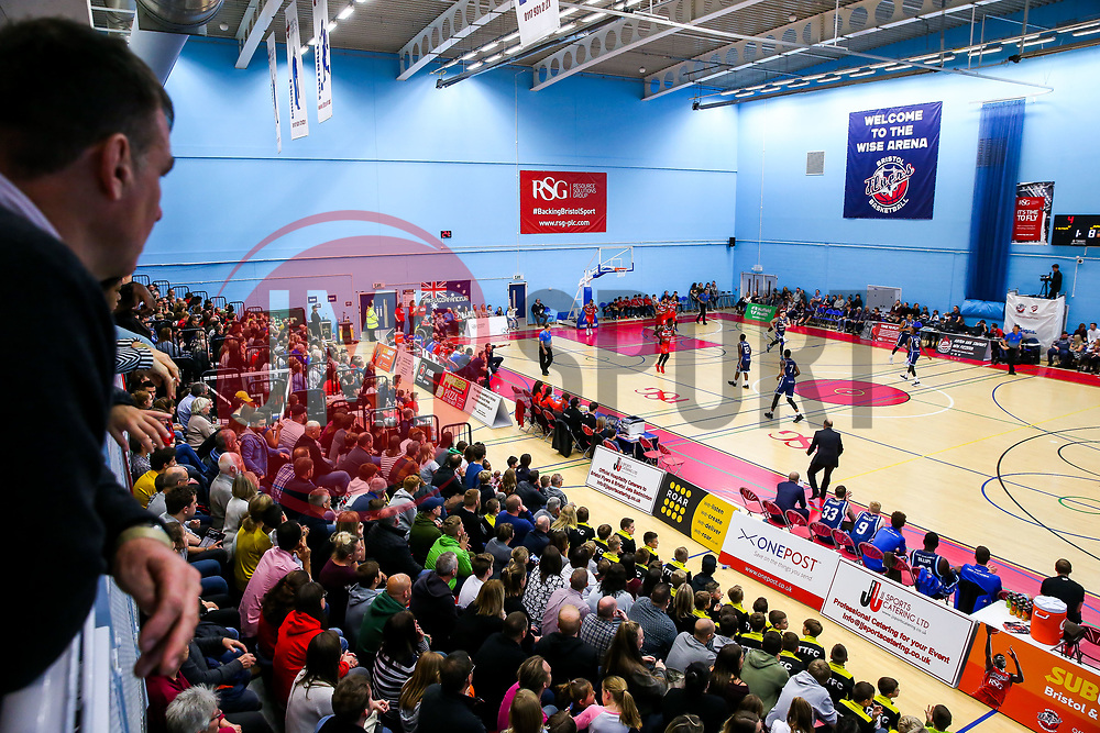 General View - Rogan/JMP - 11/11/2017 - BASKETBALL - SGS Wise Arena - Bristol, England. - Bristol Flyers v Glasgow Rocks - British Basketball League.
