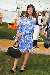 LADY NATASHA RUFUS-ISAACS at the 2012 Veuve Clicquot Gold Cup Final at Cowdray Park, Midhurst, West Sussex on 15th July 2012.