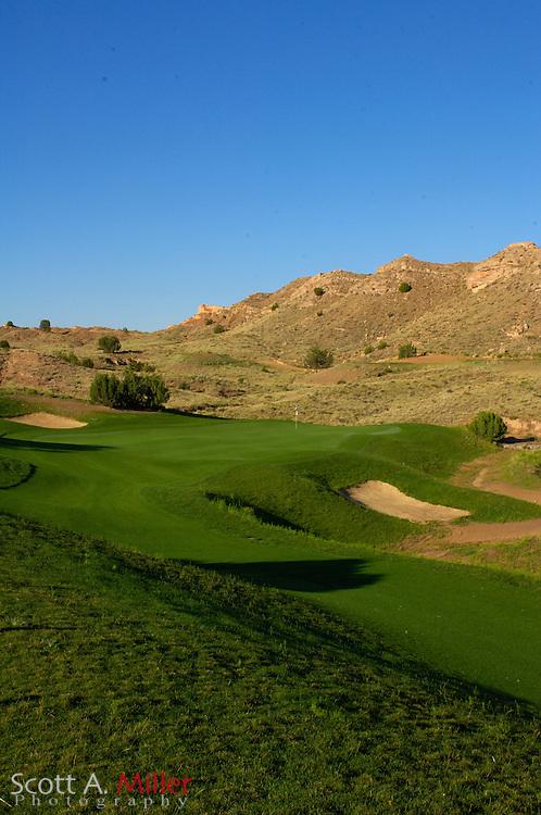 Espanola, N.M.:  July 10, 2006 -  No. 3 on Black Mesa Golf Club in Espanola, N.M...                ©2006 Scott A. Miller