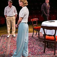 For Services Rendered by Somerset Maugham;<br /> Directed by Howard Davies;<br /> Yolanda Kettle (as Lois Ardsley);<br /> Anthony Calf (as Wilfred Cedar);<br /> Sam Callis (as Howard Bartlett);<br /> Minerva, Chichester Festival Theatre, Chichester, UK,<br /> 5 August 2015