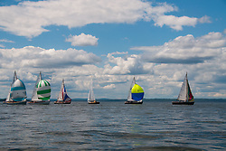 Castine Class Sailboat Race, Castine, Maine, US, July 4, 2017