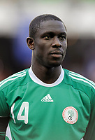 Fotball<br /> Frankrike v Nigeria<br /> Foto: DPPI/Digitalsport<br /> NORWAY ONLY<br /> <br /> FOOTBALL - FRIENDLY GAMES 2008/2009 - FRANCE v NIGERIA - 2/06/2009<br /> <br /> SEYI OLOFINJANA (NIG)