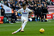 Leeds United midfielder Pablo Hernandez (19) during the EFL Sky Bet Championship match between Wigan Athletic and Leeds United at the DW Stadium, Wigan, England on 4 November 2018.