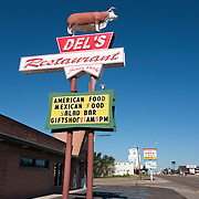 Del's Restaurant on Route 66 in Tucumcari, New Mexico
