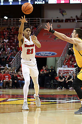 27 January 2018:  William Tinsley during a College mens basketball game between the Valparaiso Crusaders and Illinois State Redbirds in Redbird Arena, Normal IL