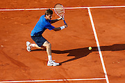 Roland Garros. Paris, France. May 28th 2012.American player Ryan Harrison against Gilles SIMON .