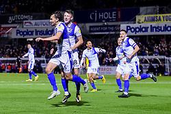 Edward Upson of Bristol Rovers celebrates scoring his sides first goal of the game   - Mandatory by-line: Ryan Hiscott/JMP - 23/10/2018 - FOOTBALL - Memorial Stadium - Bristol, England - Bristol Rovers v AFC Wimbledon - Sky Bet League One